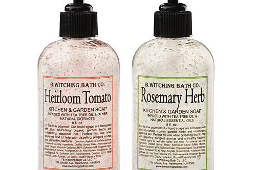 Christmas Holiday Gift Ideas: Kitchen and Garden Soaps