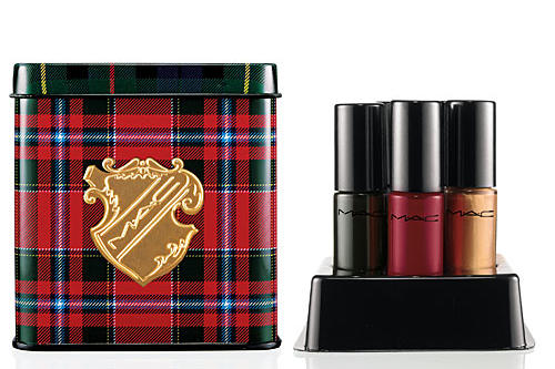Tartan Tale Naughty Little Vices Nail Lacquers by MAC