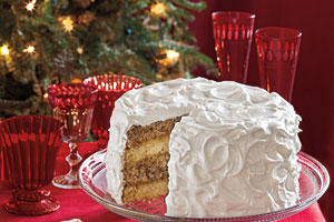 Spice Cake with Citrus Filling