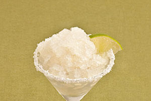 Bourbon Margarita Slushies