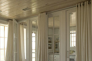 long drapery bedroom window treatments southern living