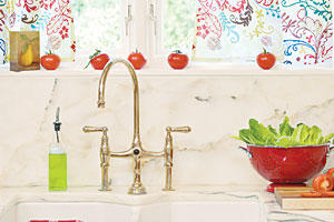 Dream Kitchen Design Ideas: Vintage-Inspired Farmhouse Sink