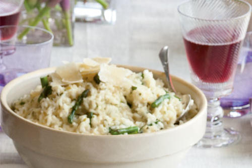 Asparagus-and-Green Onion Risotto