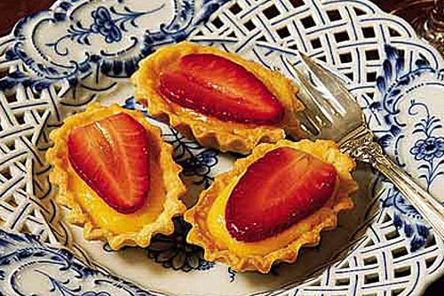 Key Lime Curd Tartlets