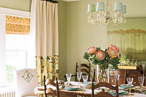 Layer Window Treatments