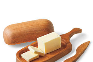 Christmas Gift Ideas: Cherry Butter Dish and Knife
