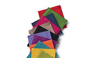 Multicolored Cocktail Napkins