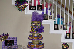 gras bridal shower mardi gras across the south southern living