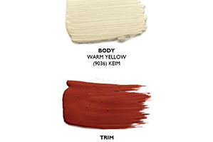 Warm Yellow Paint Colors