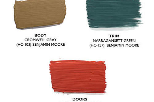 Coastal Charm Paint Colors
