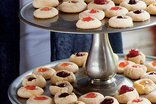 Jelly-Cheddar Thumbprints