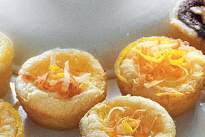 Lemon-Coconut Tarts
