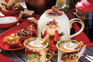 Hot Chocolate with Almond Liqueur Recipe