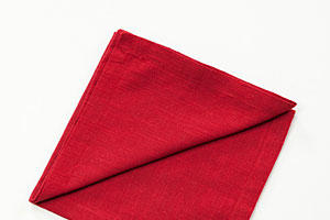 How to Fold a Napkin for a Wine Glass