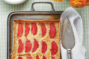 Grapefruit Chess Tart