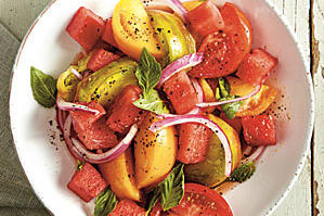 Tomato-and-Watermelon Salad