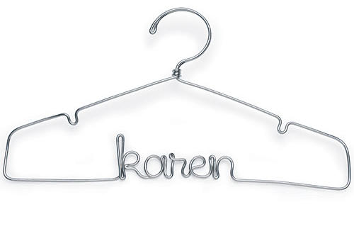 Personalized Hanger