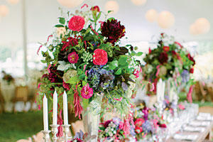 Bold Berry Centerpiece