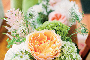 Natural Garden Centerpiece