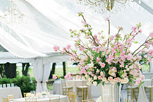 Pink Parisian Centerpiece