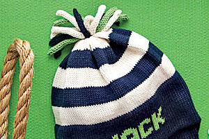 Personalized Knit Cap