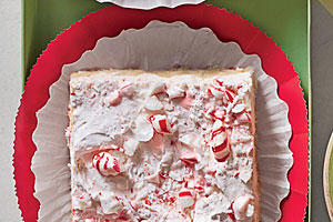 Peppermint Divinity Bars