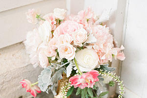 Pink and Gold Bouquet