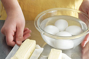 Step 1: Prep the Eggs and Butter