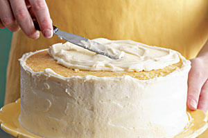 Step 9: Spread Frosting