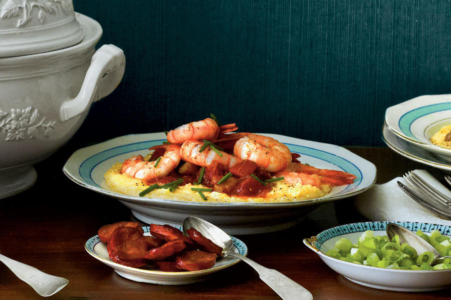 Slow-Cooker Cheese Grits