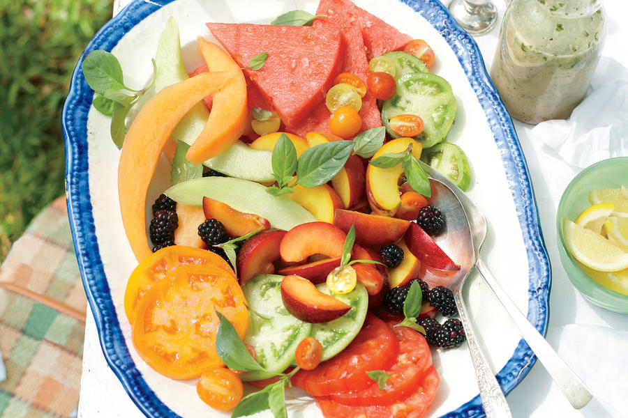 tomato is a fruit recipe for fruit salad