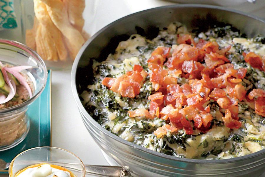 Warm Kale-and-Asiago Dip