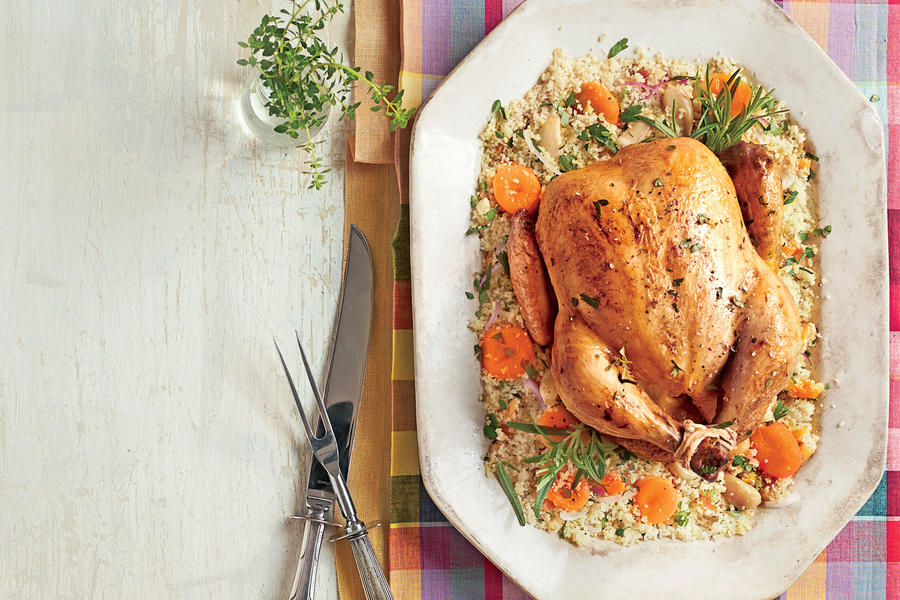 Slow-Cooker Chicken with 40 Cloves of Garlic Recipe