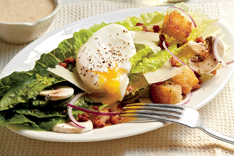 Romaine Salad With Country Ham And Eggs 21 Quick Fix