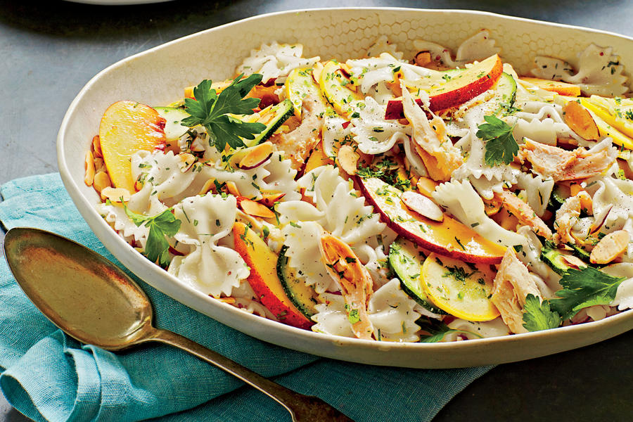 Summer Pasta Salad with Lime Vinaigrette