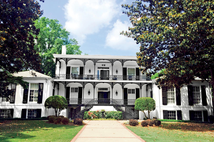 Phi Mu The South S Most Beautiful Sorority Houses