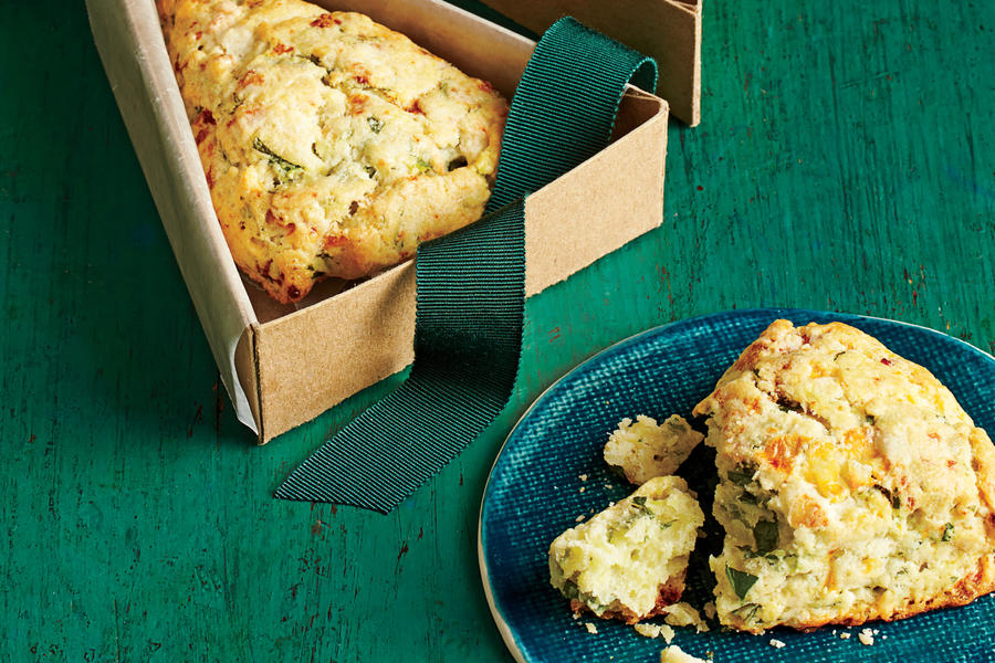 Spinach-Feta Scones