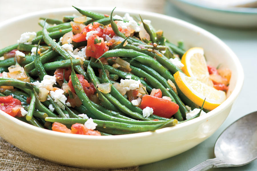 Cat Cora's Greek Easter Recipe Ideas: Oregano Green Beans