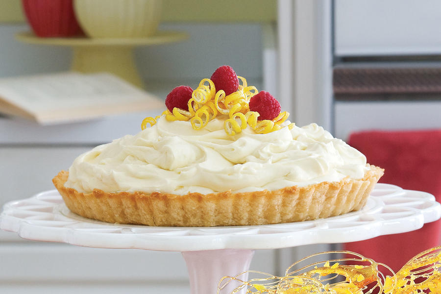 Lemon Mousse Tart