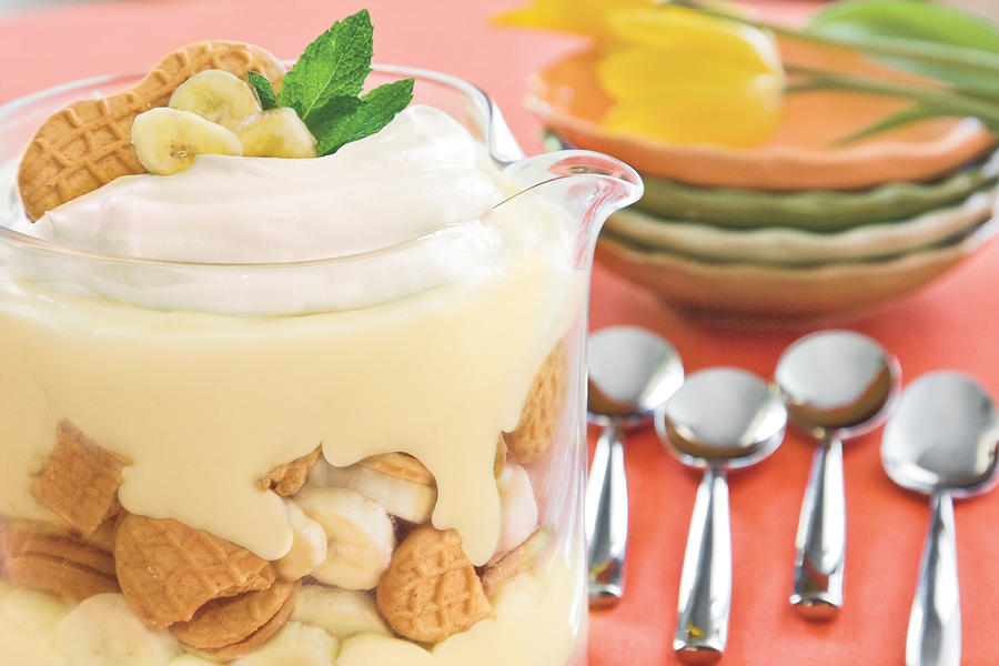 Nutter Butter-Banana Pudding Trifle