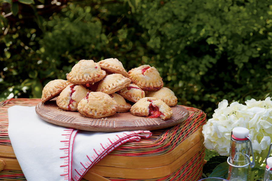 Strawberry-Rhubarb Hand Pies