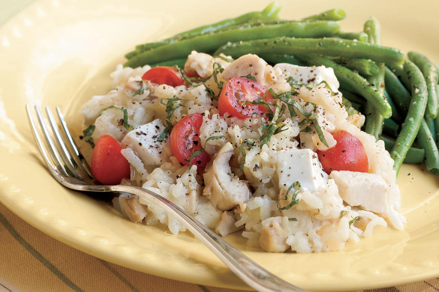 Oven Chicken Risotto