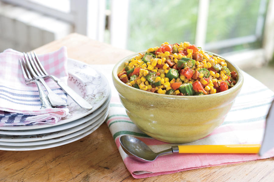 Okra-and-Corn Maque Choux