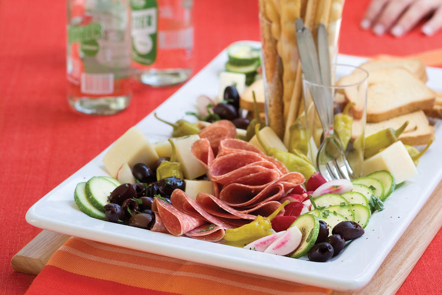 Wedding Shower Recipe Ideas: Lemon-Basil Antipasto