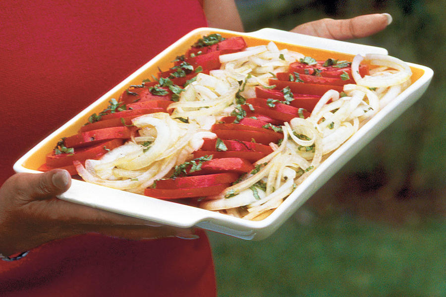 Tomato-and-Onion Salad Recipe