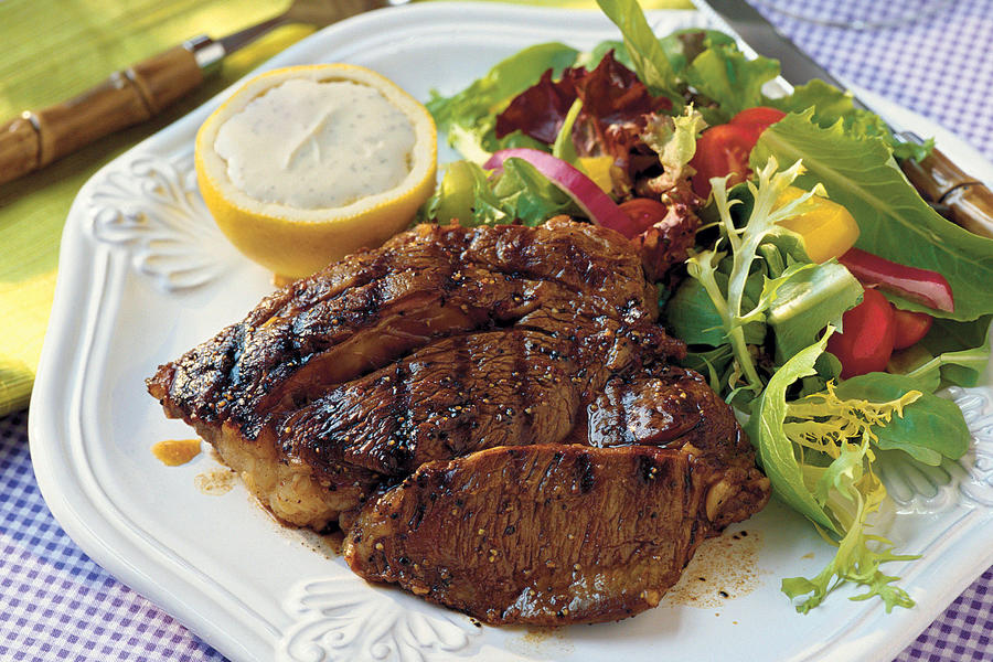 Top-Rated Main Dishes: Grilled Steaks Balsamico