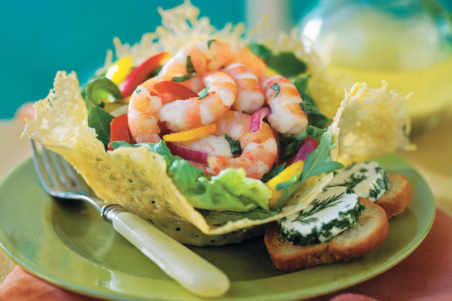 Lemon-Basil Shrimp Salad