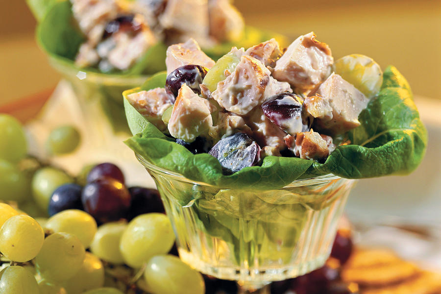 Chicken Salad with Grapes Recipe