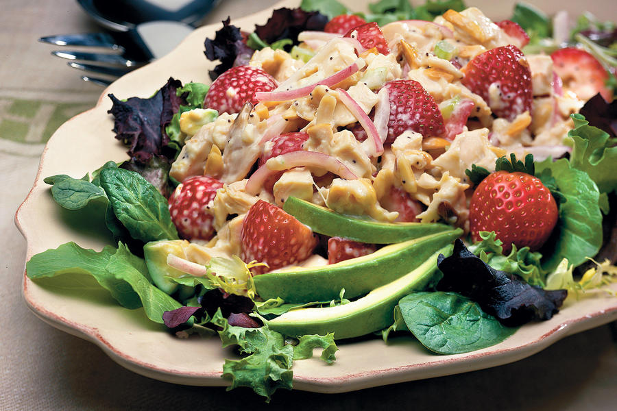 Chicken Strawberry Salad Recipes