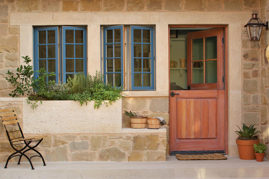 Dutch Patio Door
